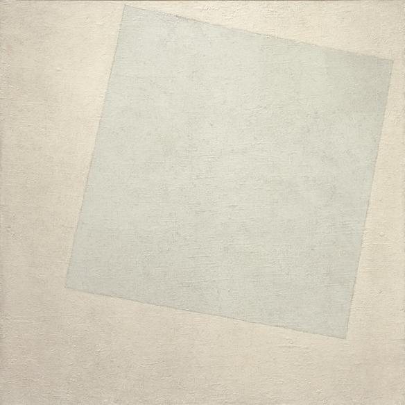 Suprematist composition: White on White - Kasimir Malevich  - 1918?