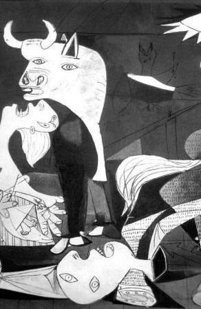 Pablo Picasso - Guernica (particolare)