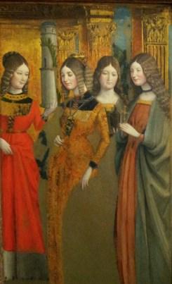 Quattro Sante - Giovanni Martino  Spanzotti