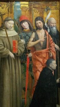 Quattro Santi -  Giovanni Martino Spanzotti