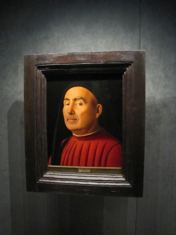 Ritratto d'uomo - Antonello da Messina (1476) - Palazzo Madama - Torino