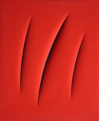 Concetto spaziale - Attese - Lucio Fontana 1961