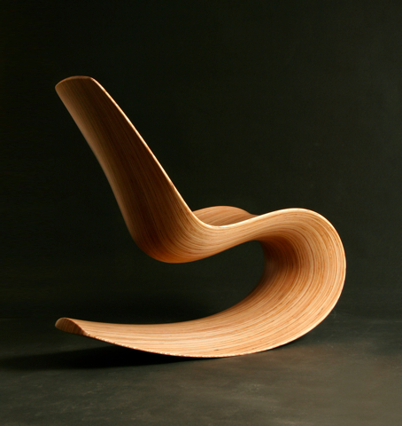 Savana Rocking Chair III designed by Jolyon Yates