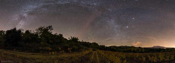 Starry Night of Rhone Alpes  - Gernot Meiser