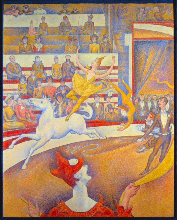 Georges Pierre Seurat - Il circo - 1891 - Musée d'Orsay, Parigi