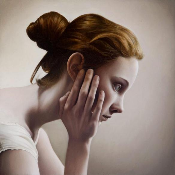 Hyper Realistic Oil Painting - Mary Jane Ansell