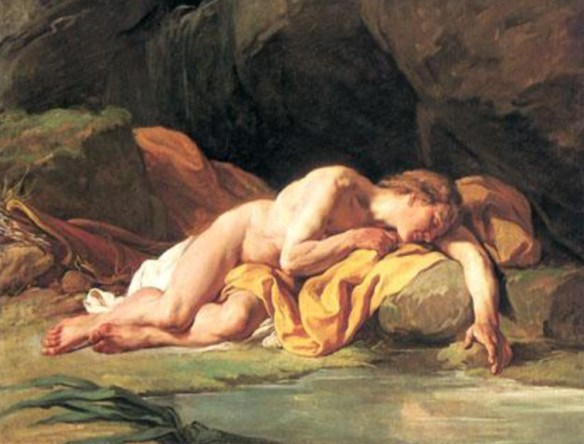 Michael Nicolas Bernard Lepicie - Narcissus - 1771
