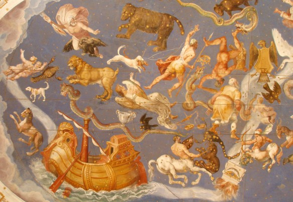 Giovanni Antonio da Varese - La volta celeste - Palazzo Farnese, Caprarola, Viterbo.
