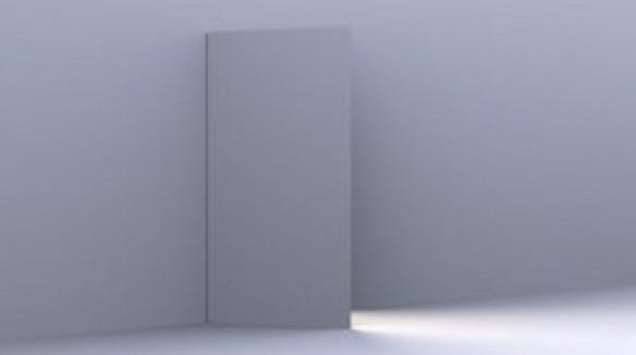 Una luce dietro la porta