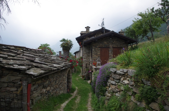 Borgata in val Pellice