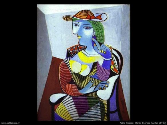 Marie Thérèse Walter - Pablo Picasso - 1937