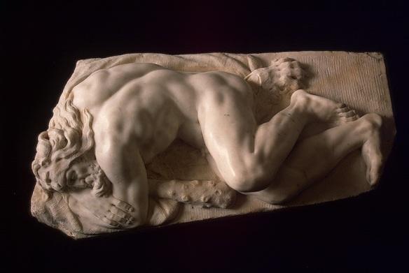 Baccio Bandinelli - Ercole dormiente - Hermitage, San Pietroburgo