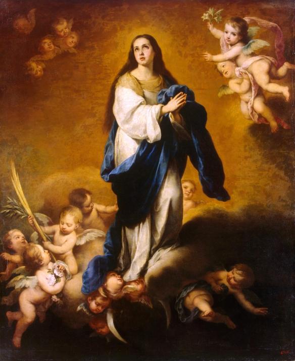 Bartolomé Esteban Murillo - Assunzione di Maria Vergine