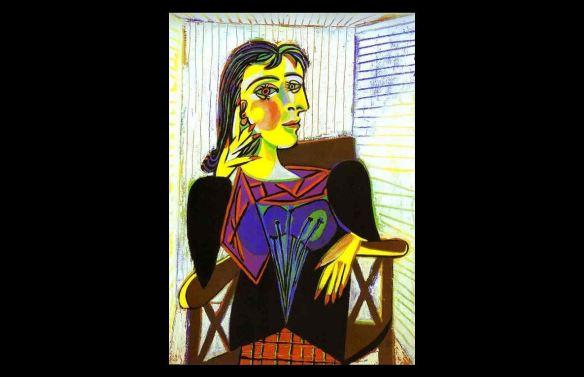 Pablo Picasso - Ritratto di Dora Maar - 1937